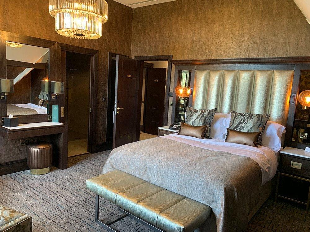 aldwark manor bedroom photo