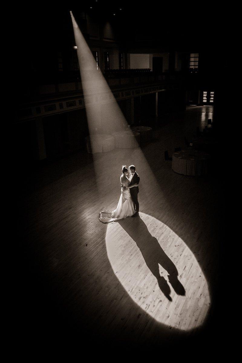 First dance bride groom wedding photograph
