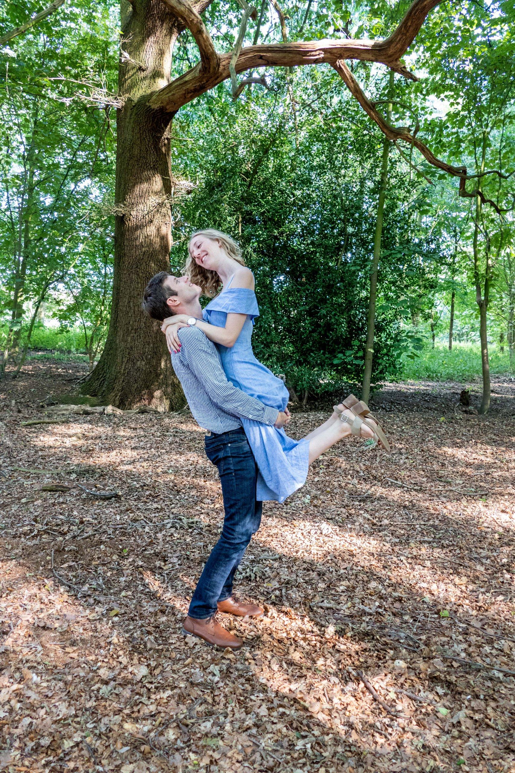 couple pre-wedding photo shoot