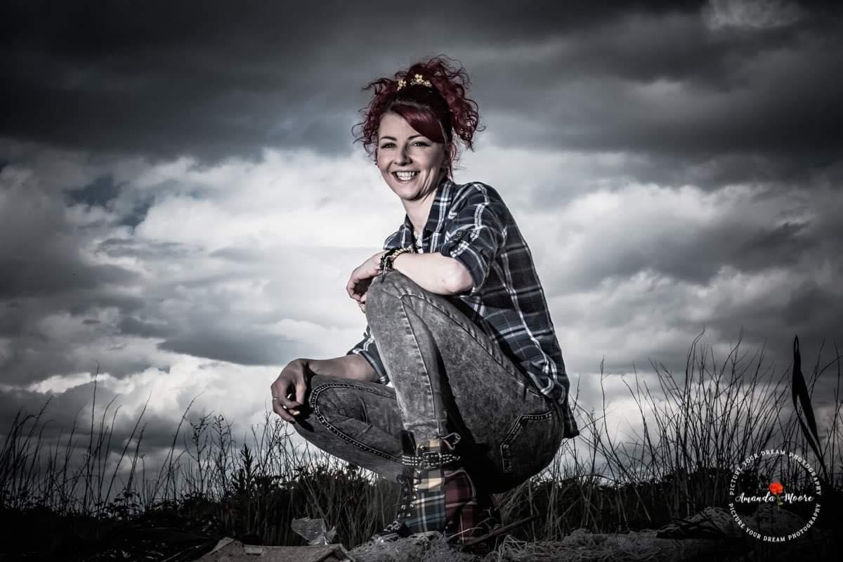 farmer girl styled shoot