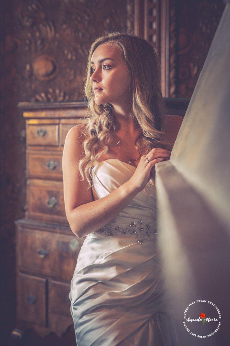 beautiful bride wedding photograph