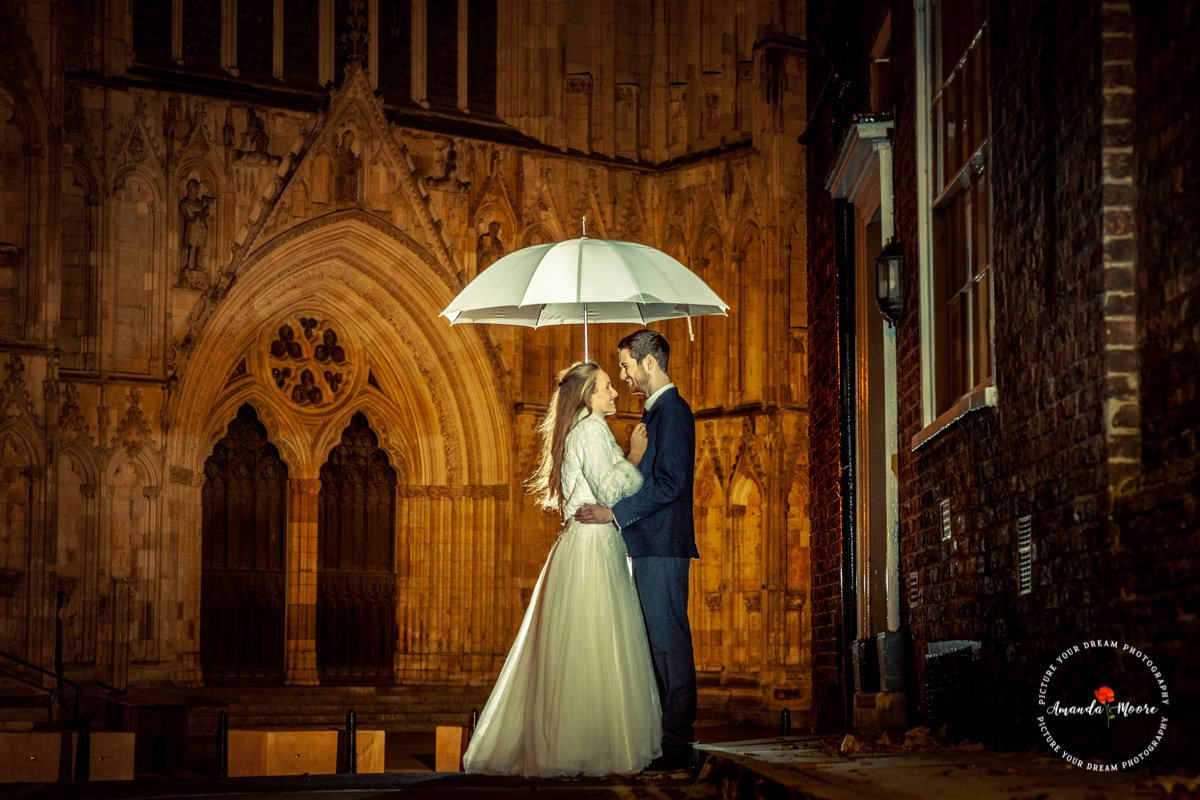 easingwold female wedding photograph york minster