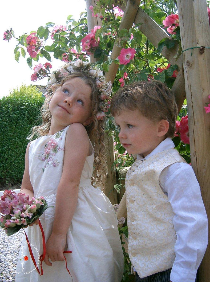 children at weddings photo